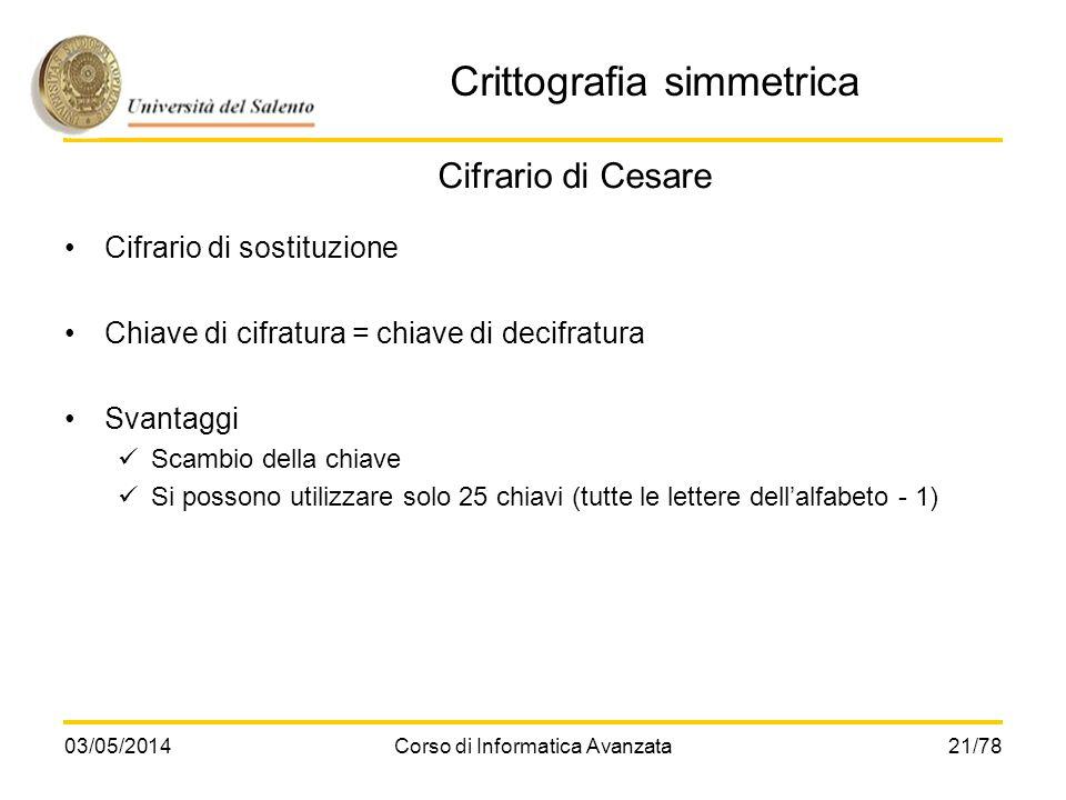 Crittografia simmetrica