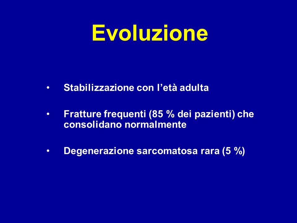 Evoluzione Stabilizzazione con l'età adulta