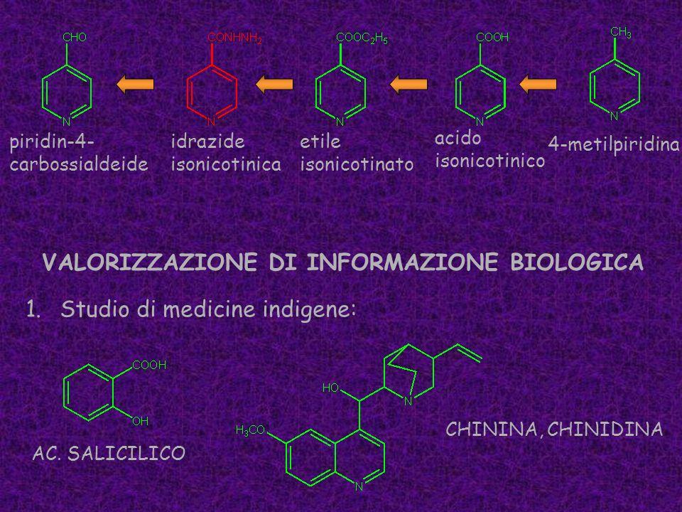 VALORIZZAZIONE DI INFORMAZIONE BIOLOGICA