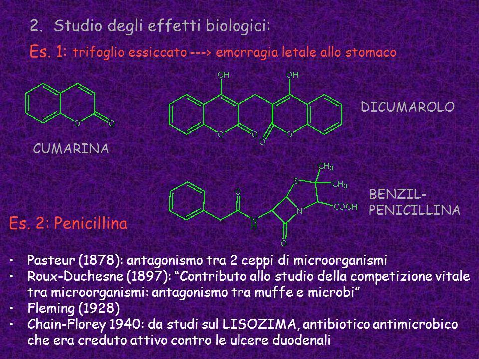 Studio degli effetti biologici: