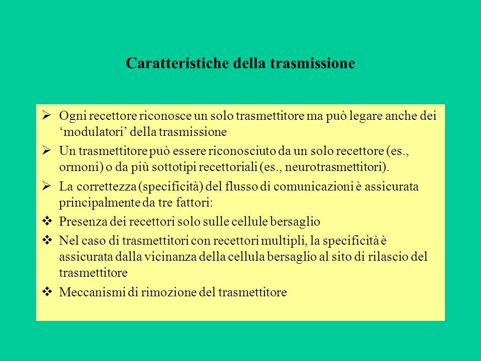 Caratteristiche della trasmissione