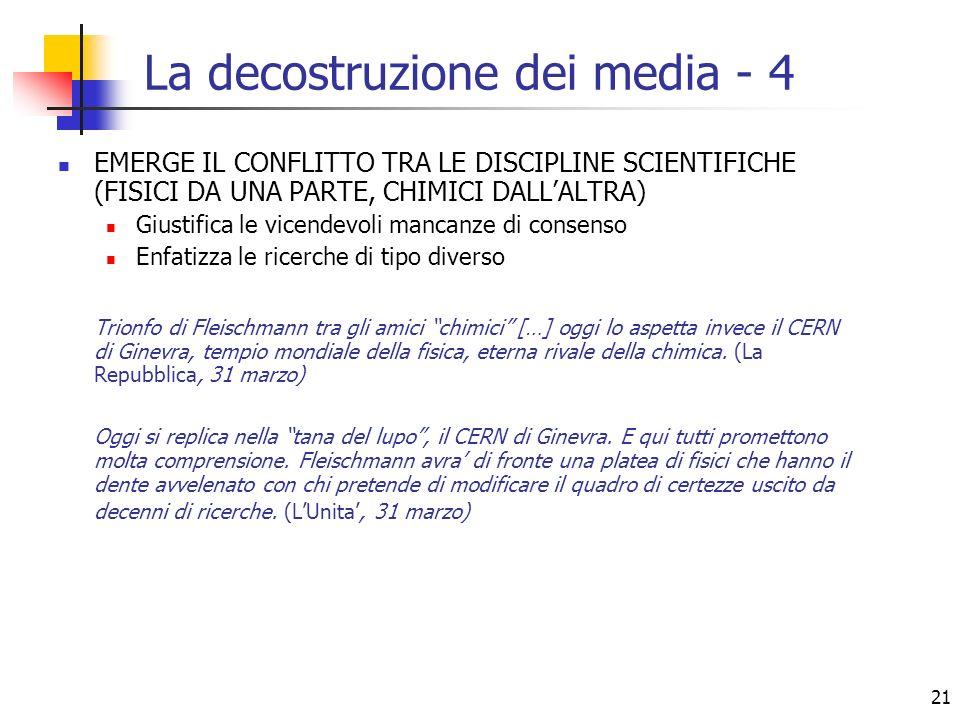 La decostruzione dei media - 4