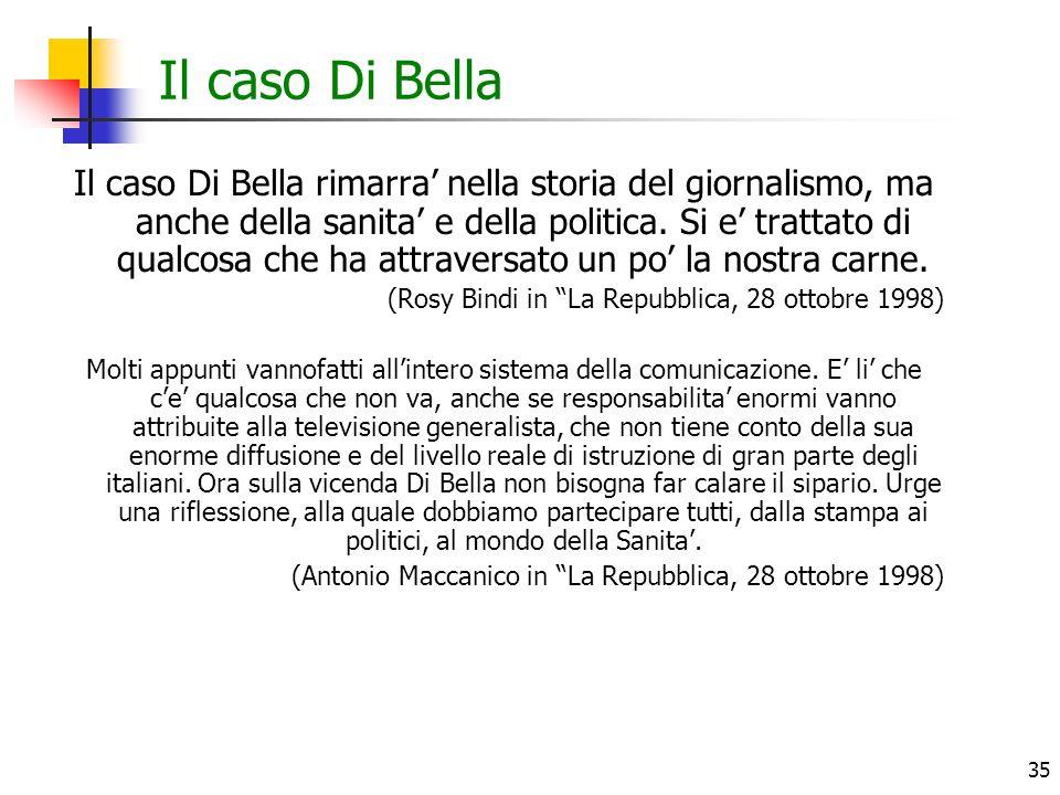 Il caso Di Bella
