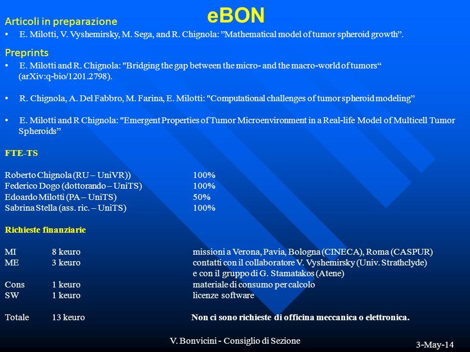 V. Bonvicini - Consiglio di Sezione