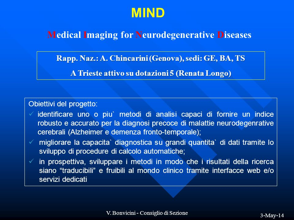 MIND Medical Imaging for Neurodegenerative Diseases