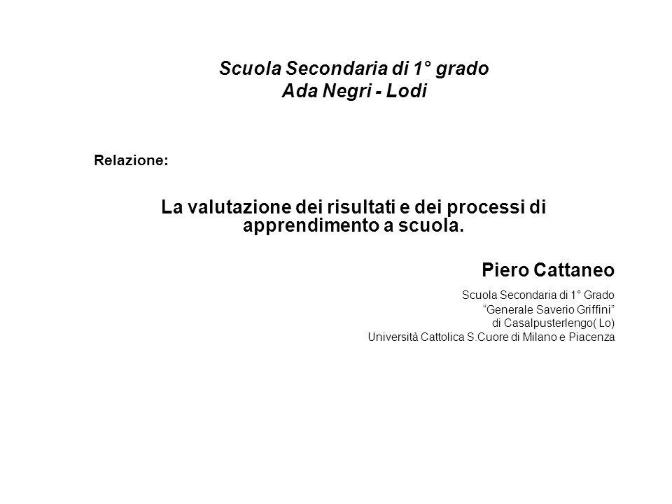 Scuola Secondaria di 1° grado Ada Negri - Lodi