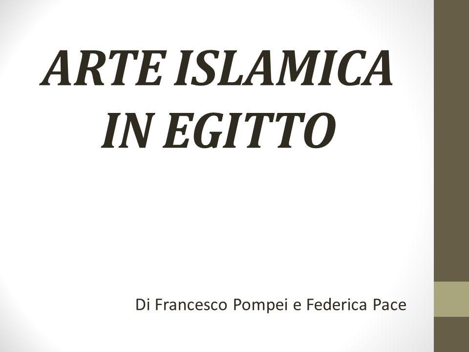 ARTE ISLAMICA IN EGITTO