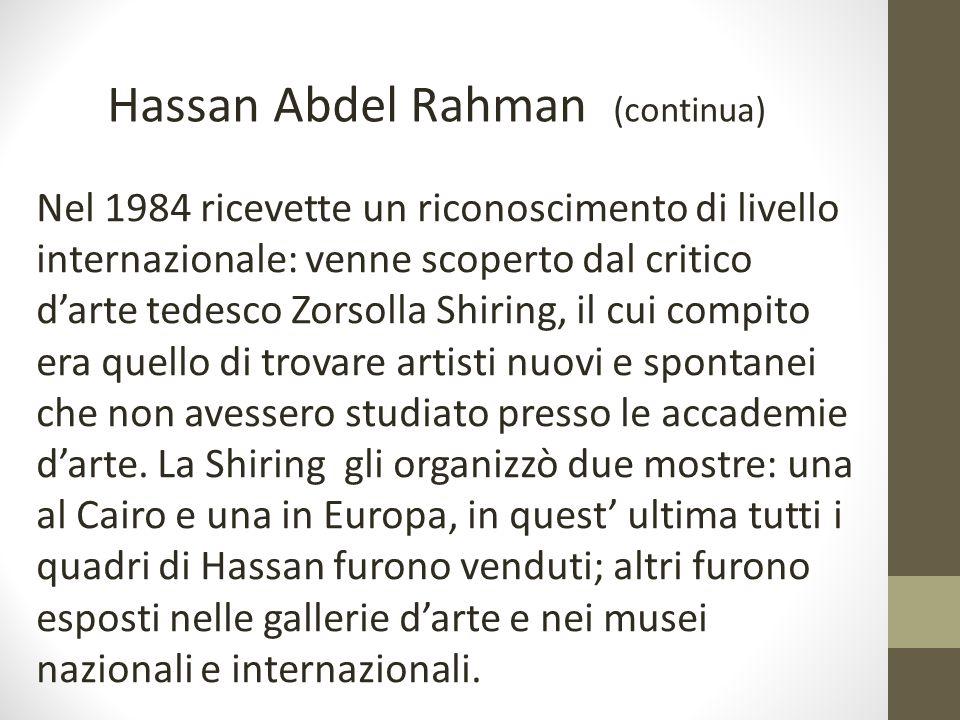Hassan Abdel Rahman (continua)