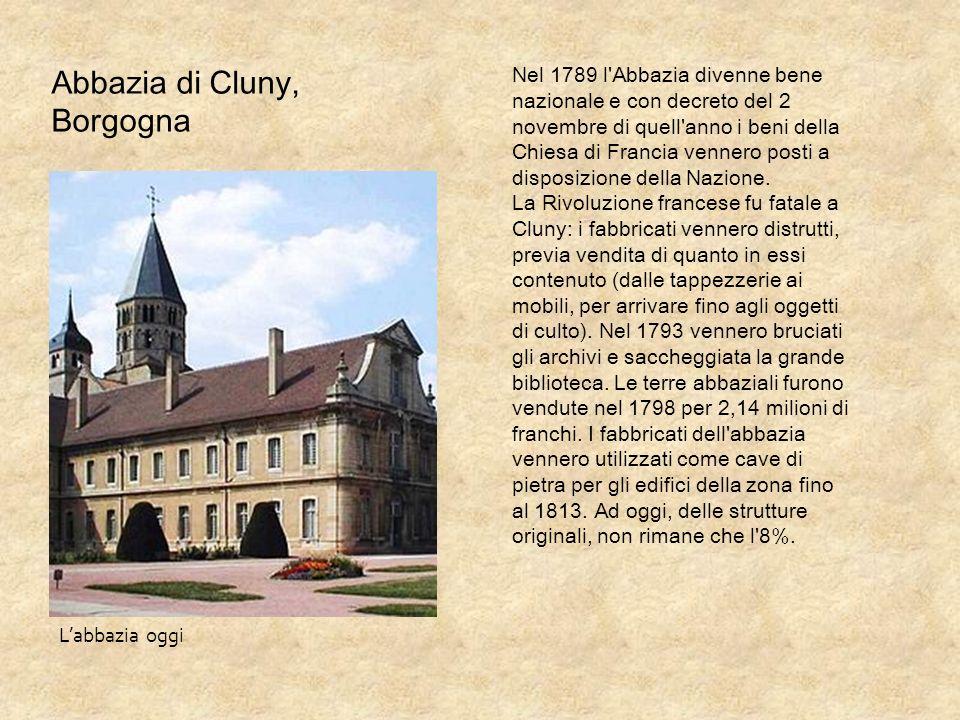 Abbazia di Cluny, Borgogna