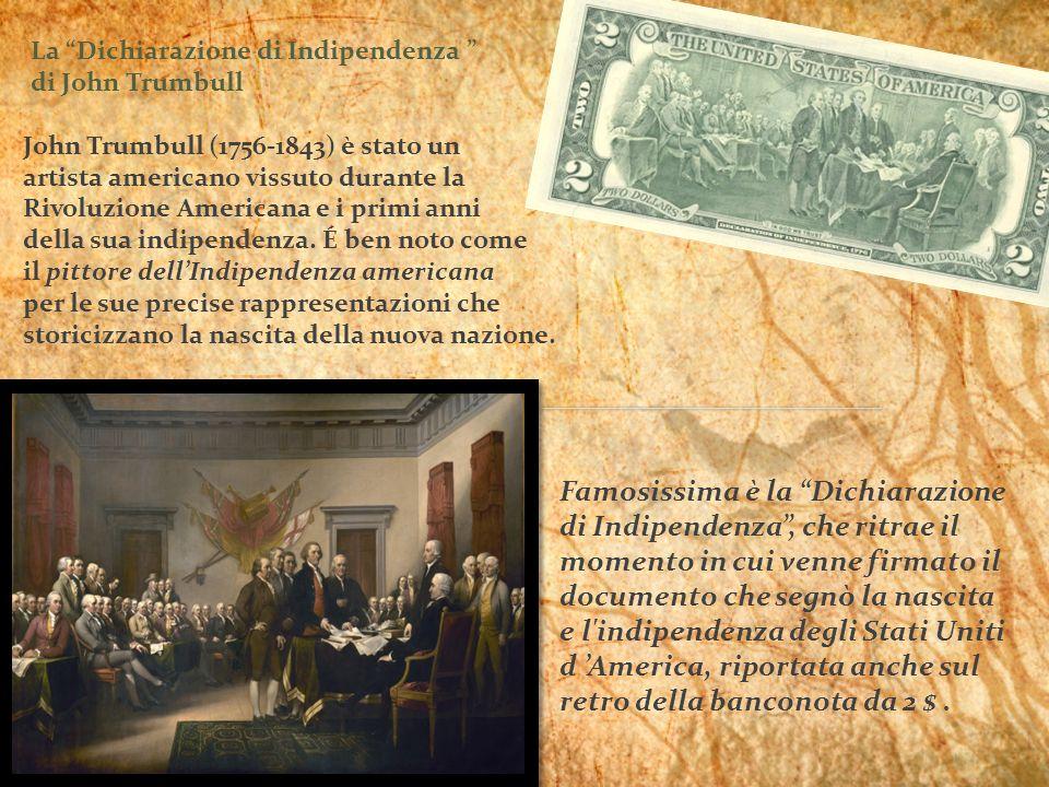 John Trumbull (1756-1843) è stato un
