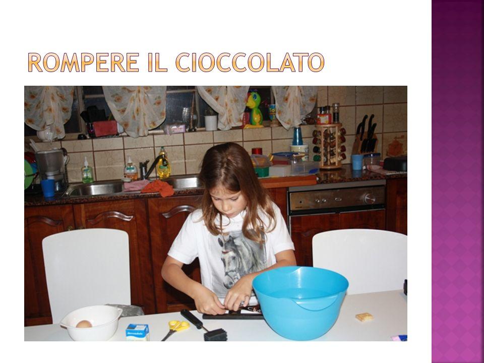 Rompere il cioccolato