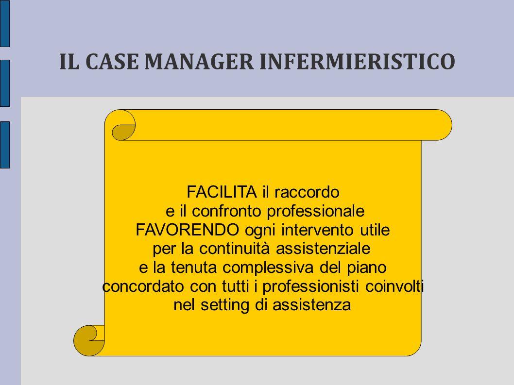IL CASE MANAGER INFERMIERISTICO