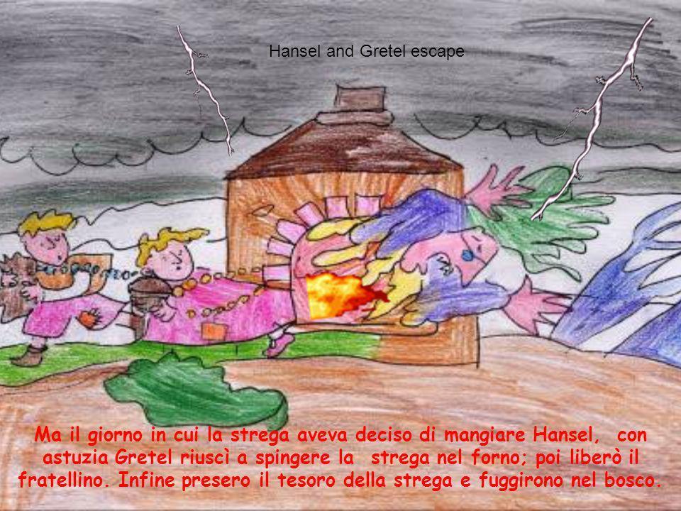 Hansel and Gretel escape