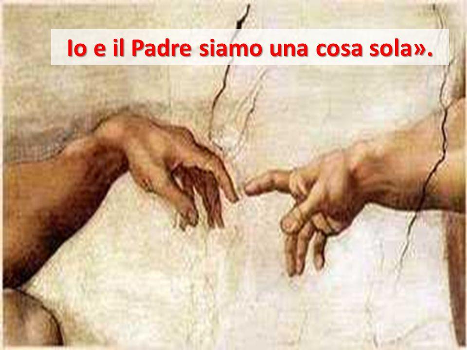Io e il Padre siamo una cosa sola».