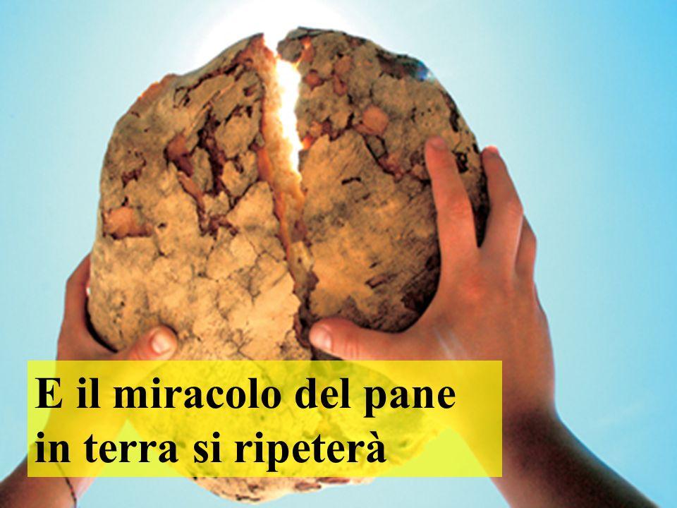 E il miracolo del pane in terra si ripeterà