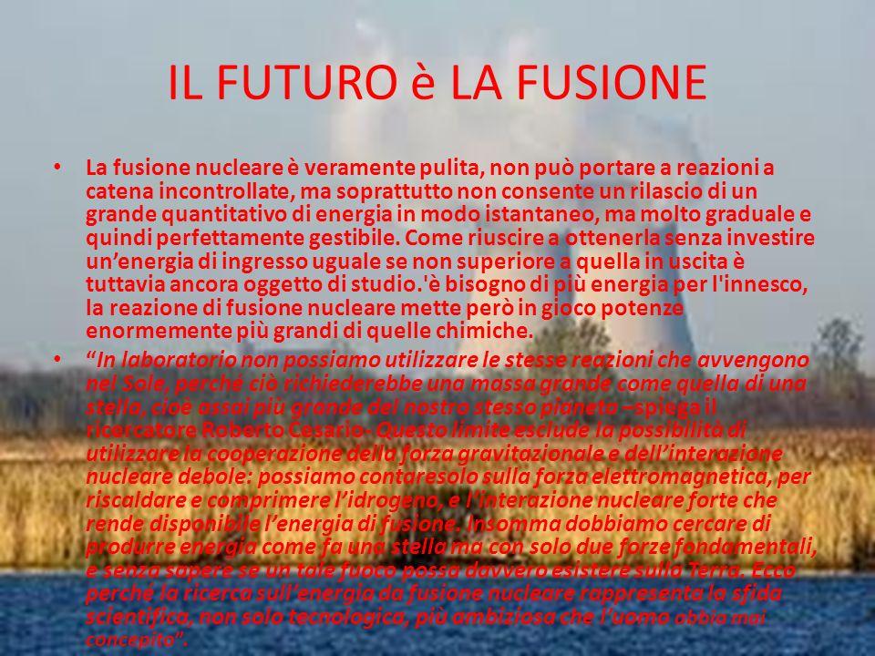 IL FUTURO è LA FUSIONE