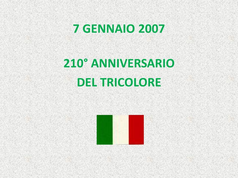 210° ANNIVERSARIO DEL TRICOLORE