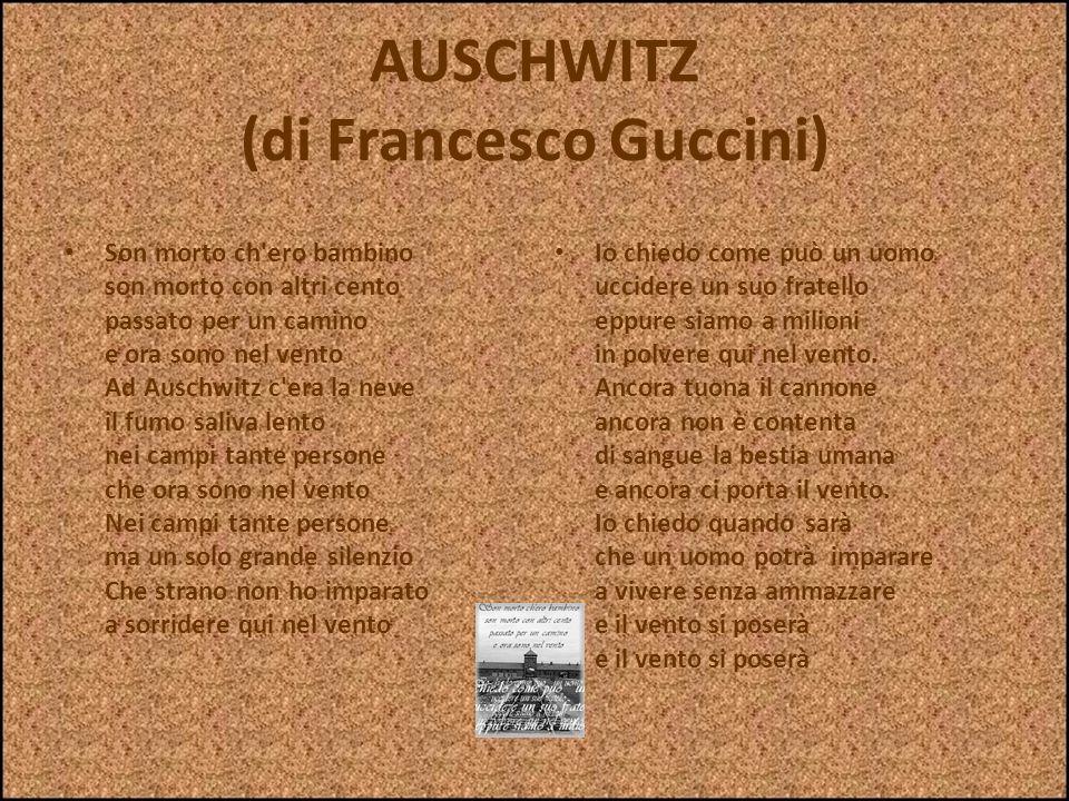 AUSCHWITZ (di Francesco Guccini)