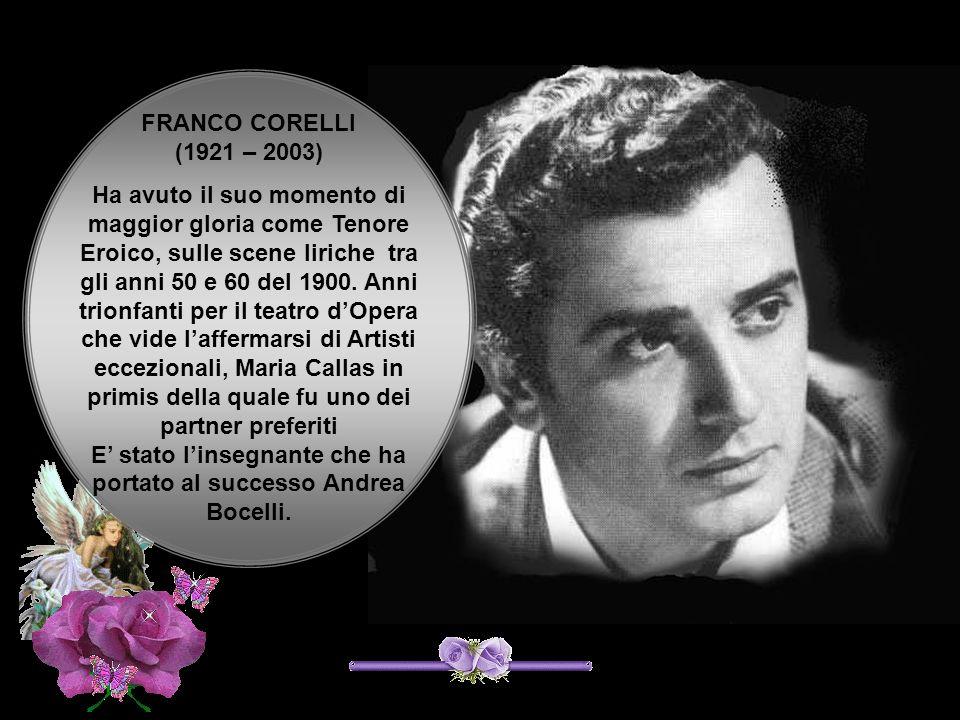 FRANCO CORELLI (1921 – 2003)