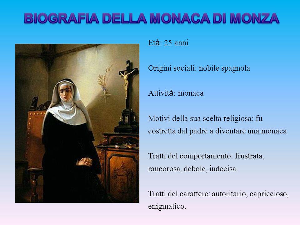 BIOGRAFIA DELLA MONACA DI MONZA