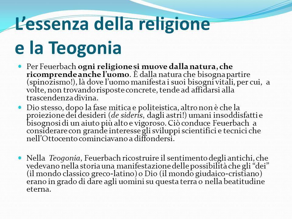 L'essenza della religione e la Teogonia
