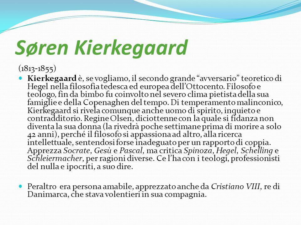 Søren Kierkegaard (1813-1855)