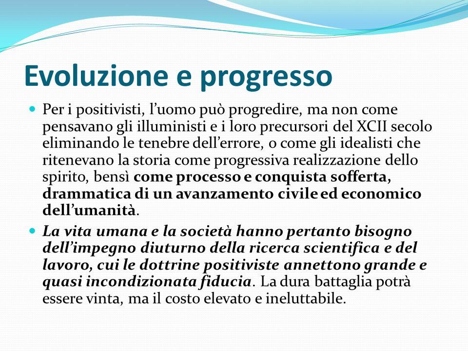 Evoluzione e progresso