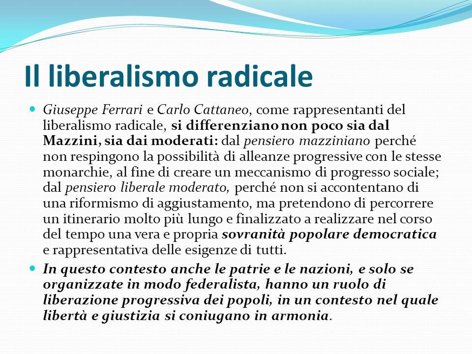 Il liberalismo radicale