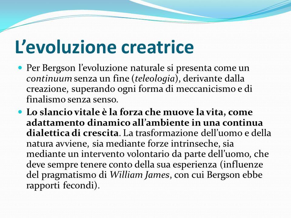 L'evoluzione creatrice