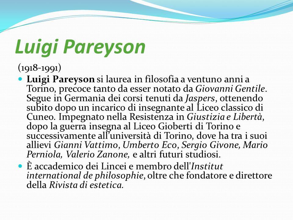Luigi Pareyson (1918-1991)