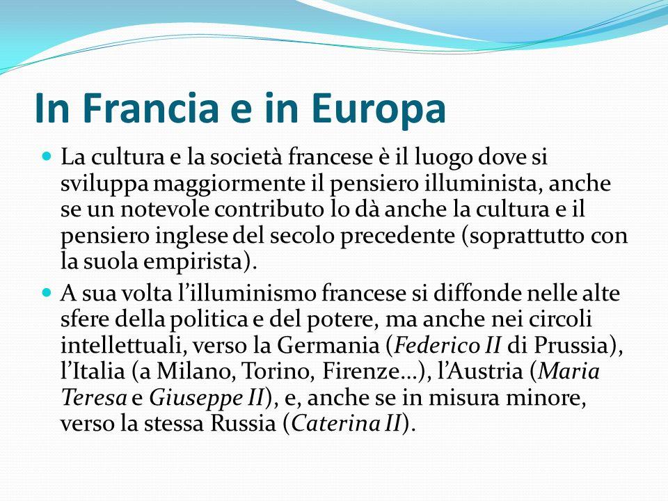In Francia e in Europa