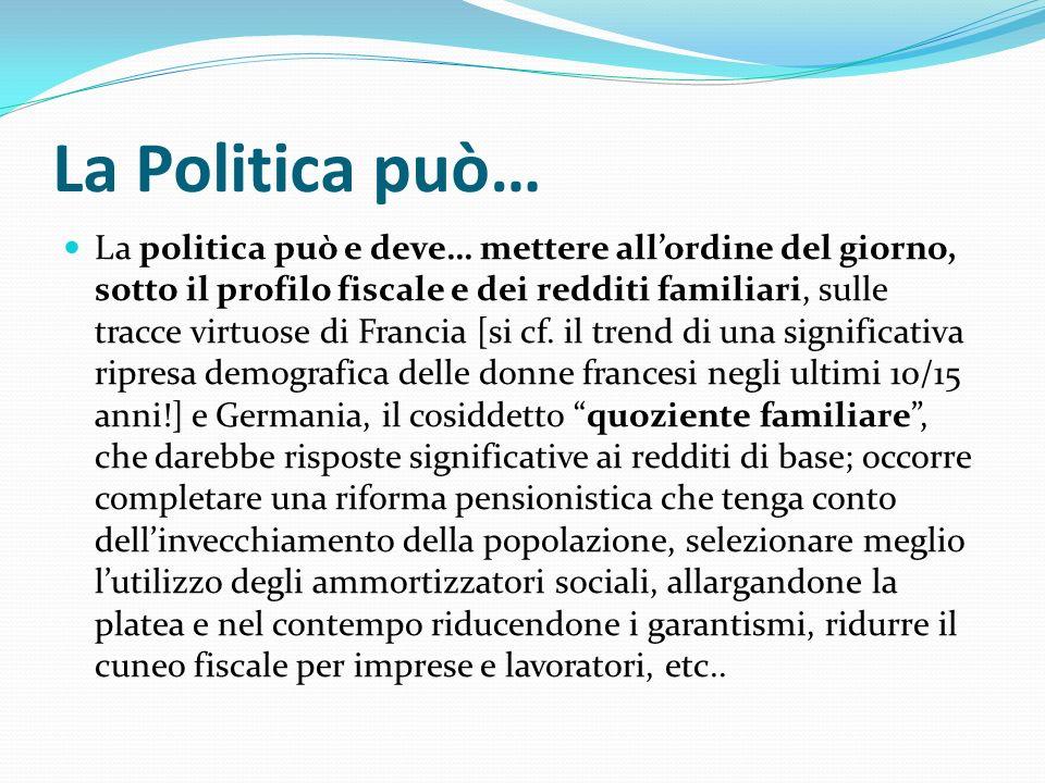 La Politica può…