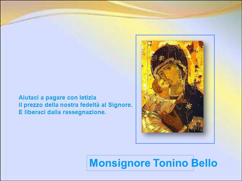 Monsignore Tonino Bello