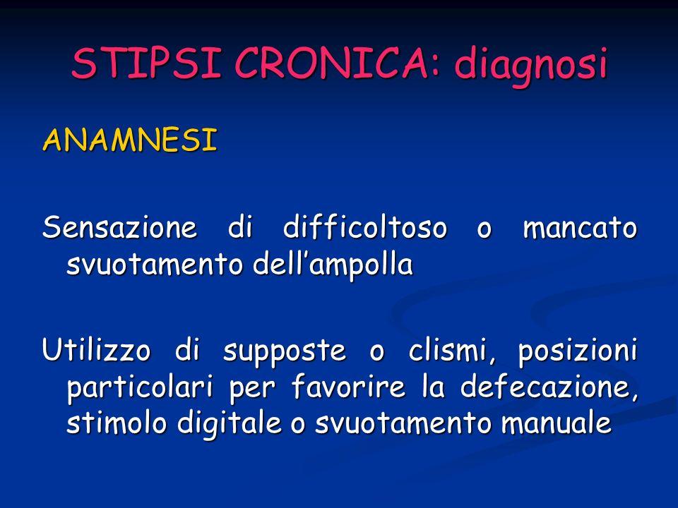 STIPSI CRONICA: diagnosi