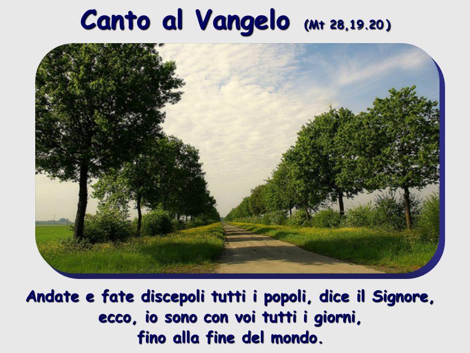 Canto al Vangelo (Mt 28,19.20 )