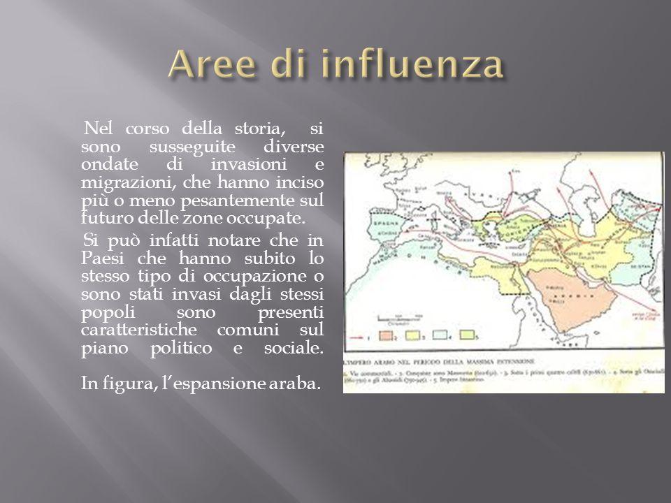 Aree di influenza