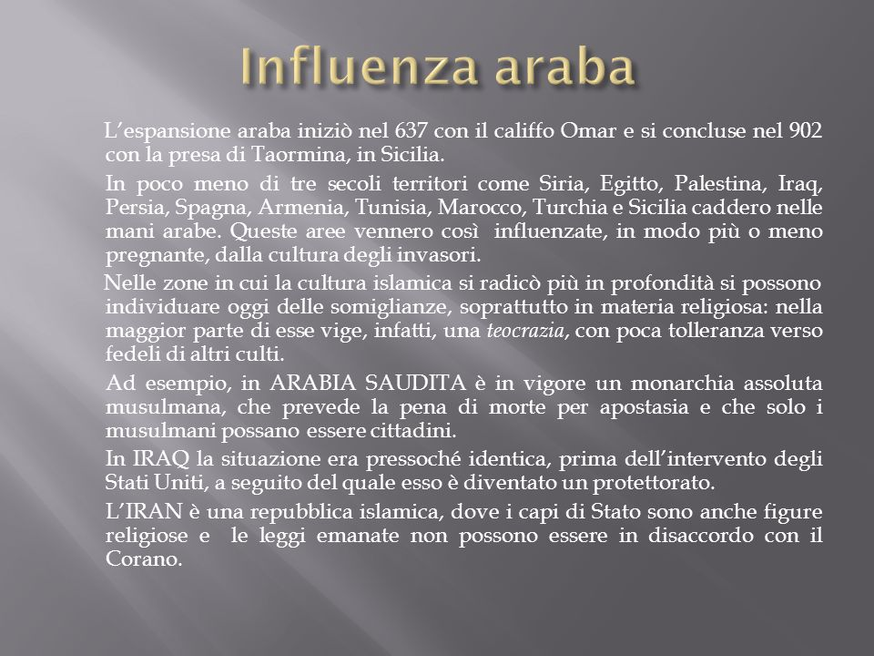 Influenza araba