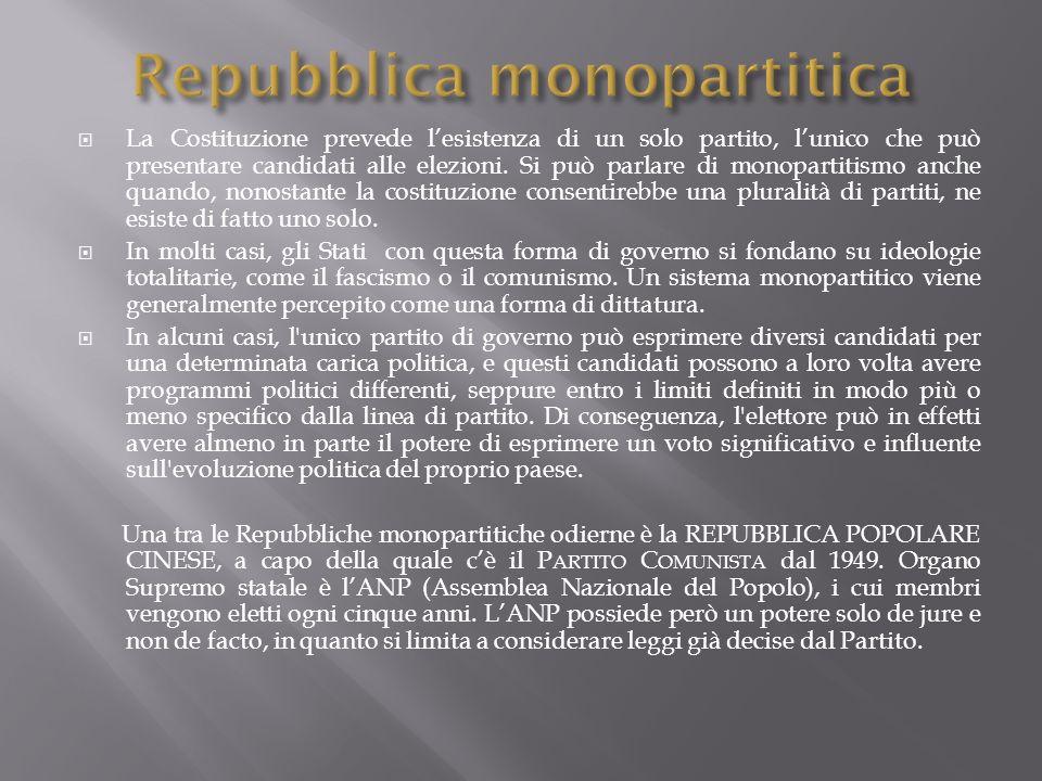 Repubblica monopartitica