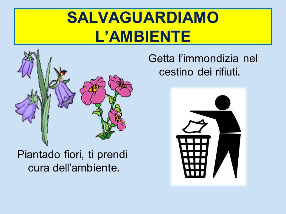 SALVAGUARDIAMO L'AMBIENTE