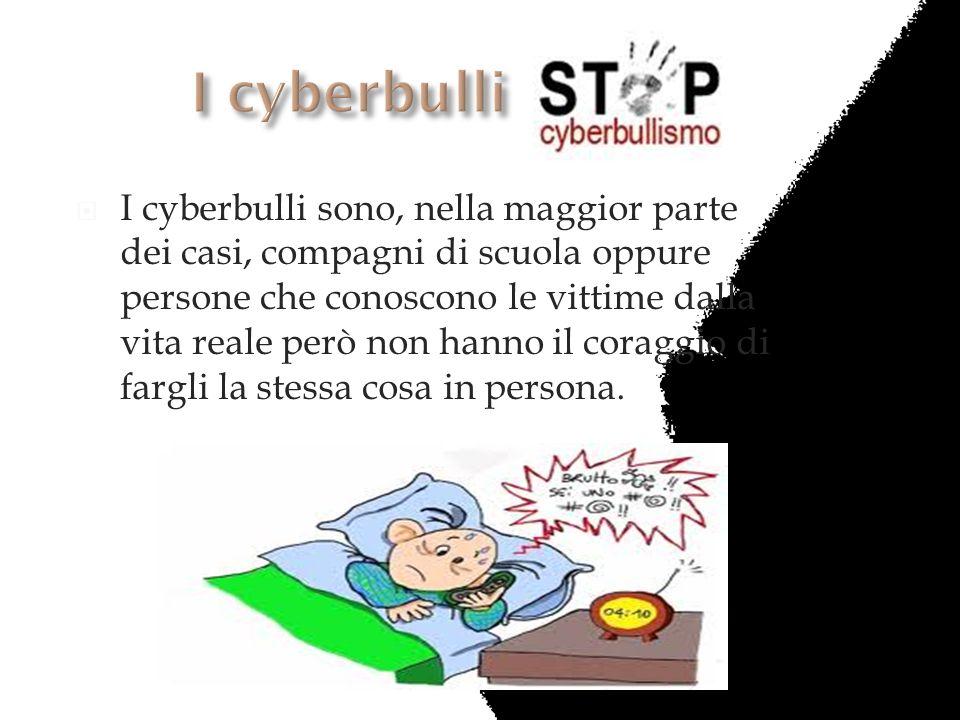 I cyberbulli