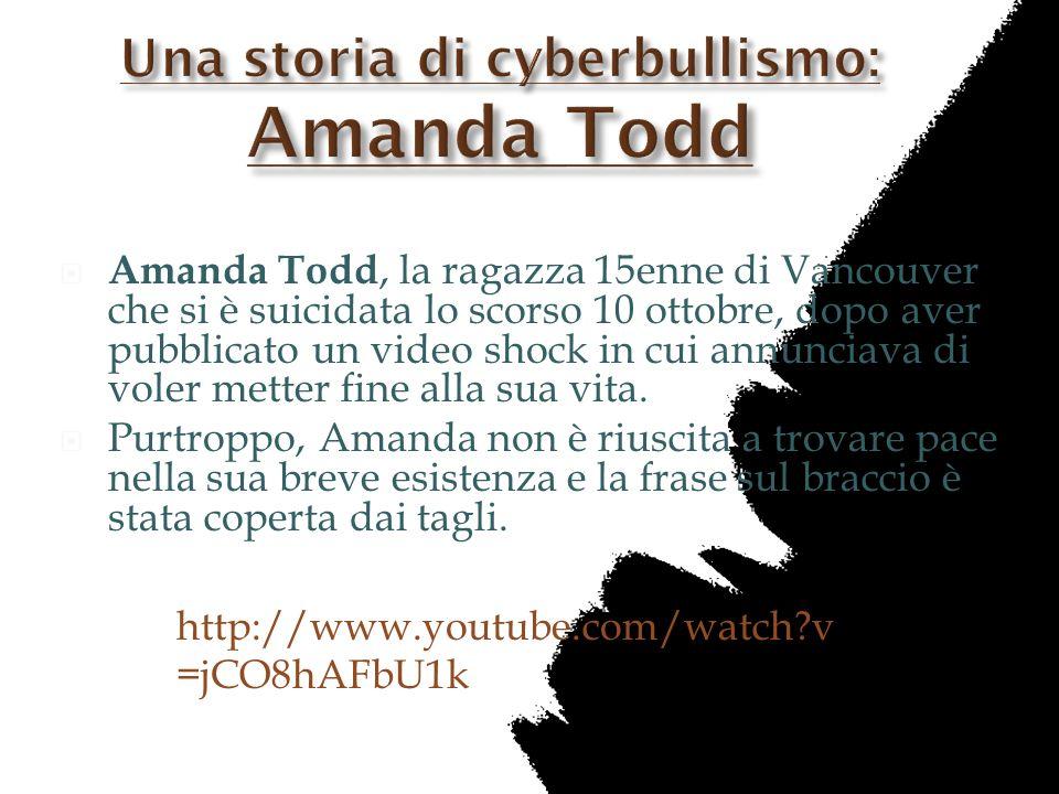 Una storia di cyberbullismo: Amanda Todd