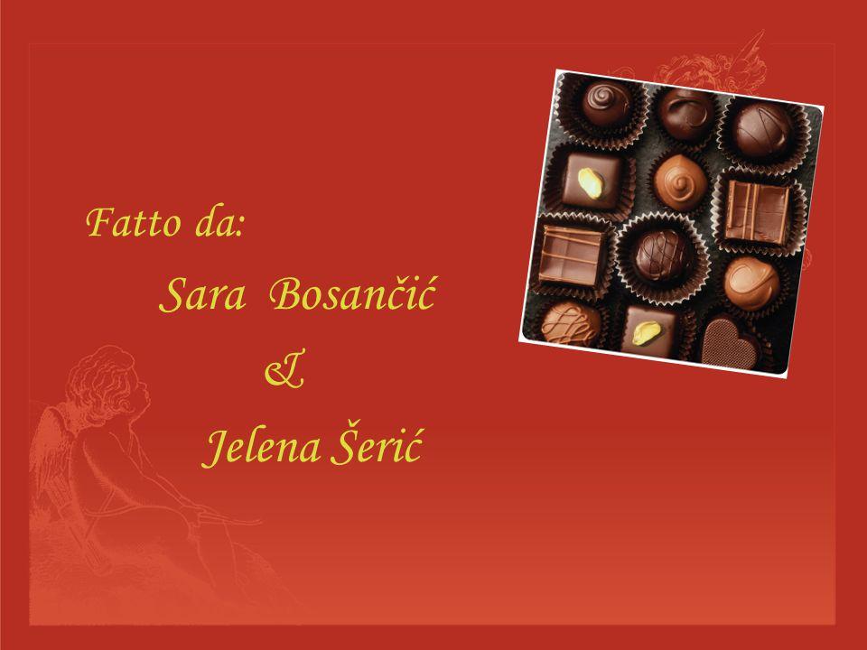 Fatto da: Sara Bosančić & Jelena Šerić