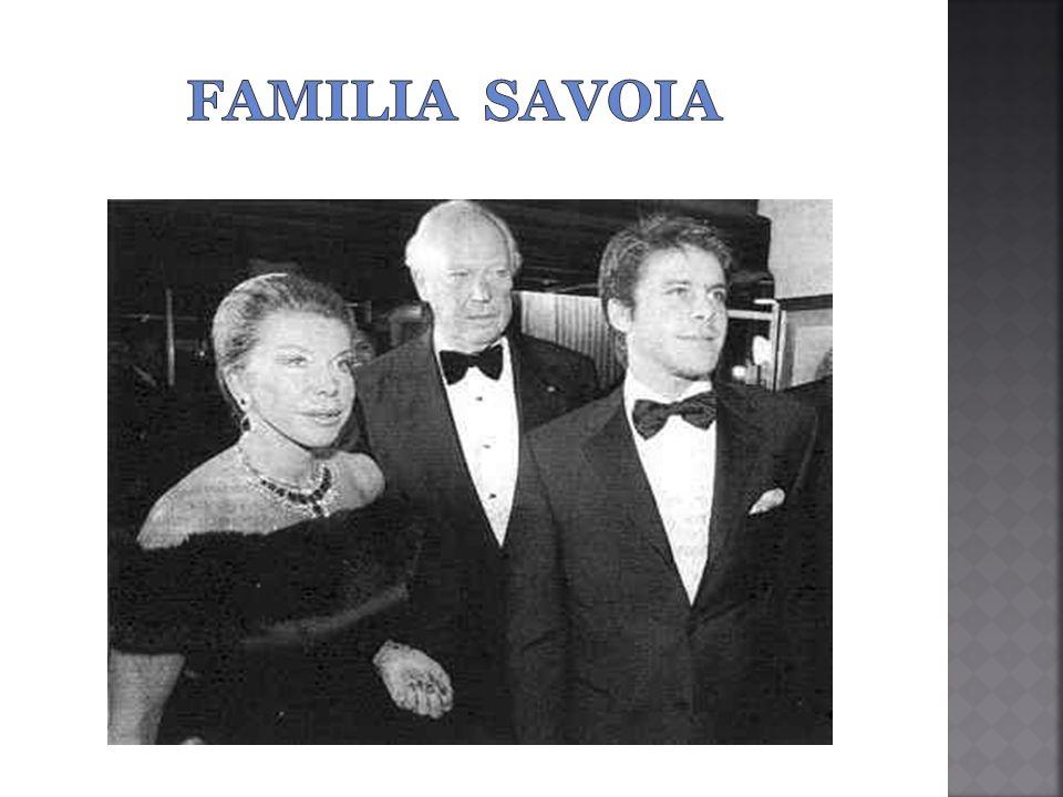 familia savoia