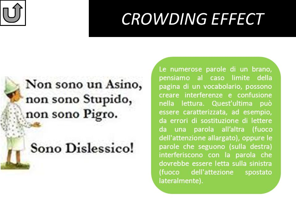 CROWDING EFFECT