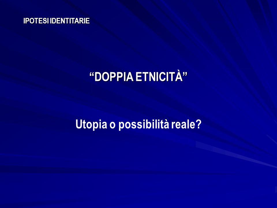 Utopia o possibilità reale