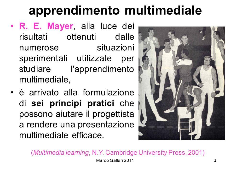 apprendimento multimediale