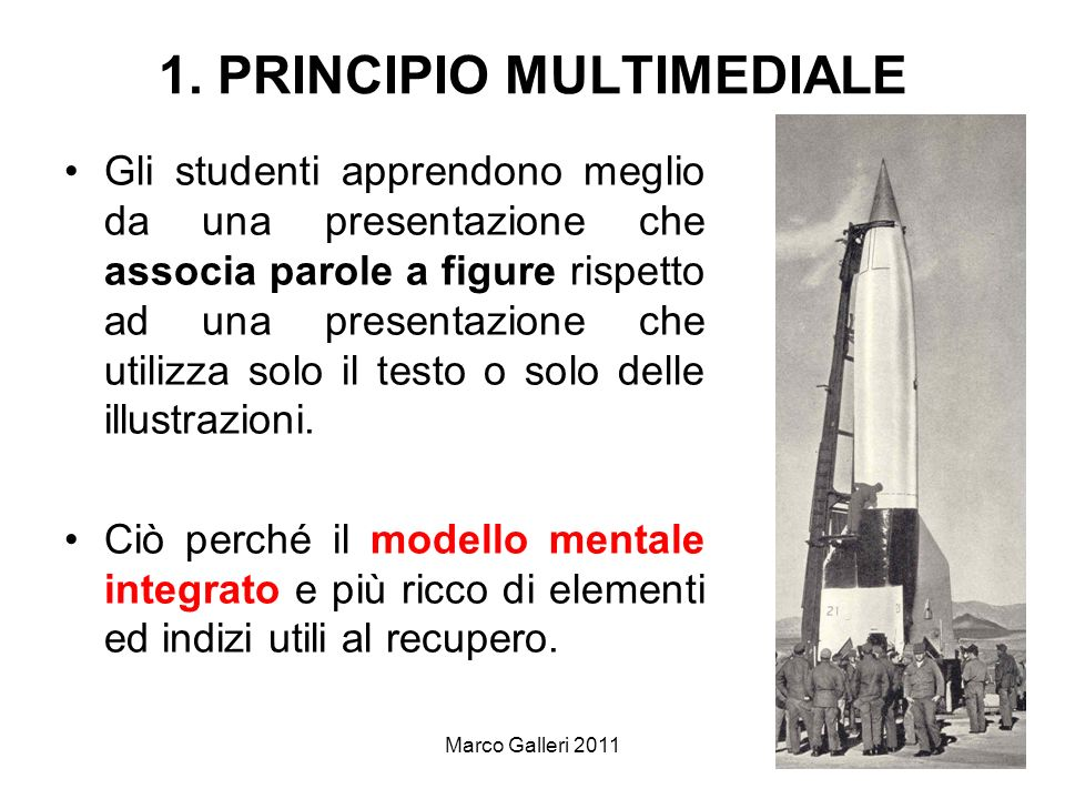 1. PRINCIPIO MULTIMEDIALE