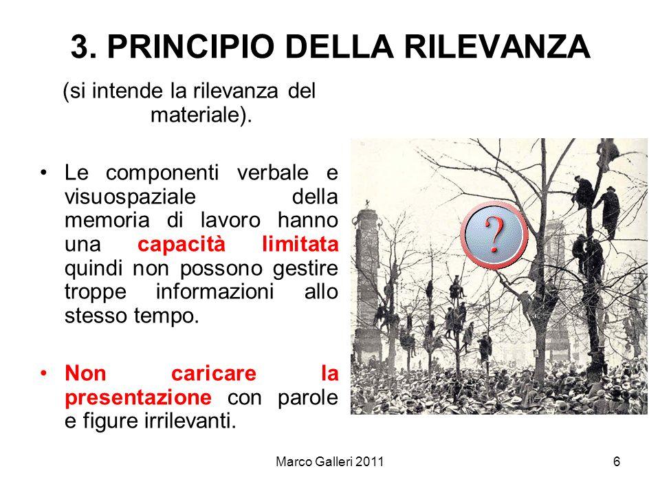 3. PRINCIPIO DELLA RILEVANZA