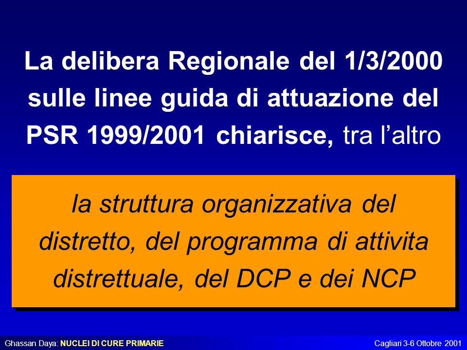 La delibera Regionale del 1/3/2000 sulle linee guida di attuazione del PSR 1999/2001 chiarisce, tra l'altro
