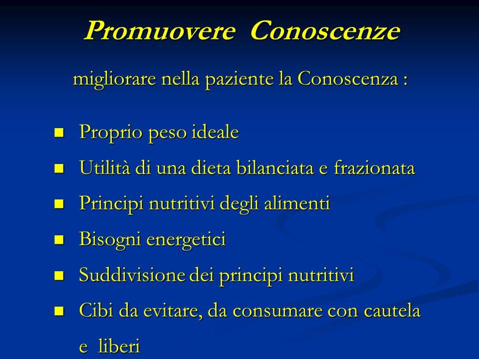 Promuovere Conoscenze